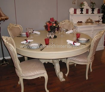 Victorian Round Dining Table 120cm